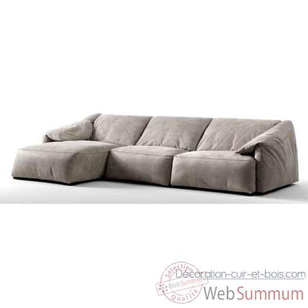 achat de canape sur d coration cuir et bois. Black Bedroom Furniture Sets. Home Design Ideas