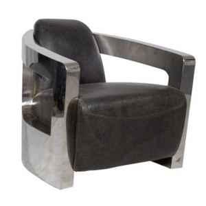 Canap s fauteuils dans decoration cuir sur d coration cuir et bois - Fauteuil club cuir et metal ...