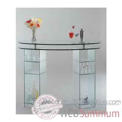 bar marais en verre cbar2 dans meuble bar design marais. Black Bedroom Furniture Sets. Home Design Ideas