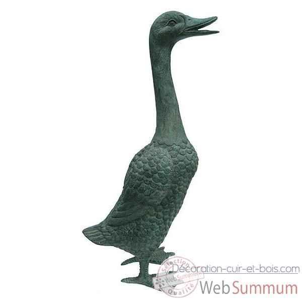 Canard en bronze brz190 28 dans animaux de la ferme sur for Canard de decoration