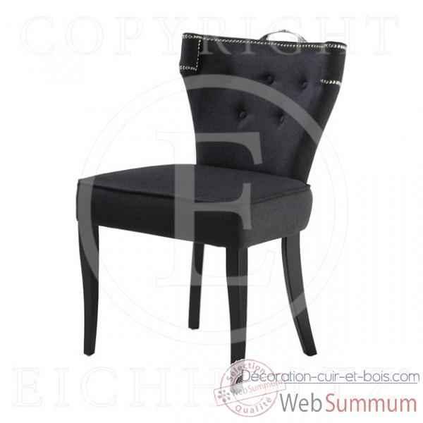 eichholtz fauteuil el mansour blanc cass et pieds noirs dans fauteuil canap. Black Bedroom Furniture Sets. Home Design Ideas