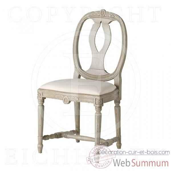 eichholtz fauteuil rochebrune lin blanc et blanc su dois. Black Bedroom Furniture Sets. Home Design Ideas