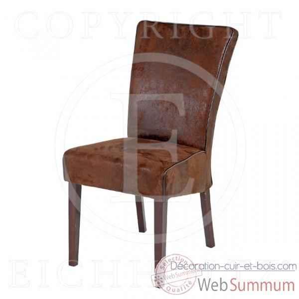 Eichholtz fauteuil club carlton velours noir et rustique dans fauteuil canap - Canape cuir et bois rustique ...