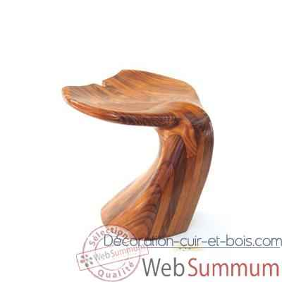 Tabouret de bar poulpe bois de rauli last1373770r dans - Tabouret de bar hauteur 60 cm ...