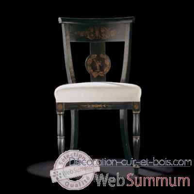 chaise charles x massant de mobilier collection massant sur d coration cuir et bois. Black Bedroom Furniture Sets. Home Design Ideas