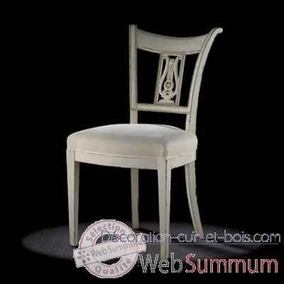 chaise directoire lyre massant dt2 de mobilier collection massant. Black Bedroom Furniture Sets. Home Design Ideas