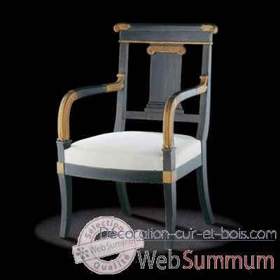 chaise empire massant de mobilier collection massant sur d coration cuir et bois. Black Bedroom Furniture Sets. Home Design Ideas