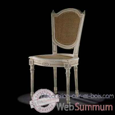 chaise louis xvi cabriolet massant l16t8 de mobilier collection massant. Black Bedroom Furniture Sets. Home Design Ideas