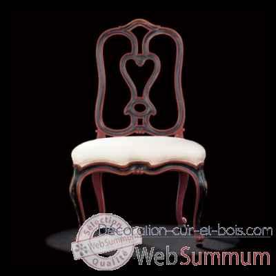chaise v nitienne massant de mobilier collection massant sur d coration cuir et bois. Black Bedroom Furniture Sets. Home Design Ideas
