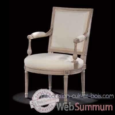 fauteuil louis xvi jacob massant l16tf11 de mobilier collection massant. Black Bedroom Furniture Sets. Home Design Ideas