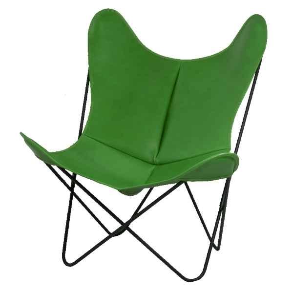 fauteuil butterfly en cuir dans decoration cuir sur. Black Bedroom Furniture Sets. Home Design Ideas