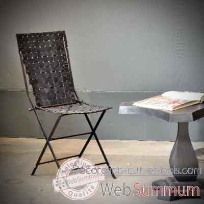 chaise en pneu recycl objet de curiosit si031 de objet. Black Bedroom Furniture Sets. Home Design Ideas