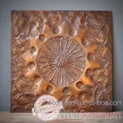 D coration murale bronze objet de curiosit ta079 for Decoration murale objet