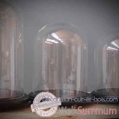 Globe pr sentoir dans objet de curiosit sur d coration cuir et bois - Globe cabinet de curiosite ...