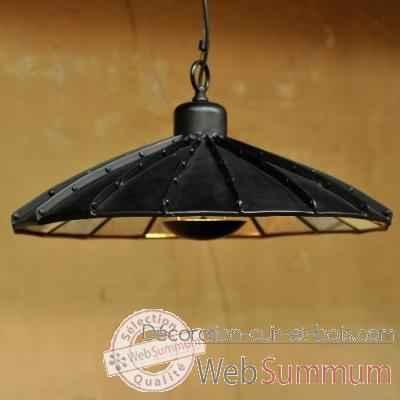 suspensions dans luminaire sur d coration cuir et bois. Black Bedroom Furniture Sets. Home Design Ideas