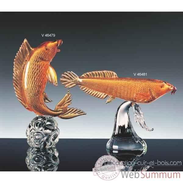 Achat de poisson sur d coration cuir et bois for Achat poisson