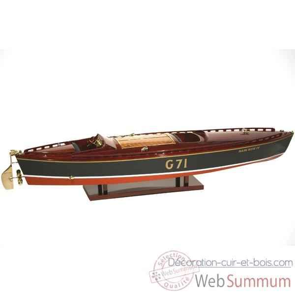 RIVA Aquarama Runabout Maquette kit bateau bois 1/10