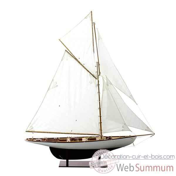 Maquette voilier classe j moonbeam v moon75 de kiade de bateau bois - Deco marine pas cher ...