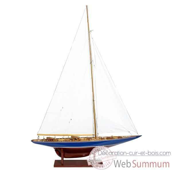 maquette de bateaux voilier et runabout kiade sur d coration cuir et bois. Black Bedroom Furniture Sets. Home Design Ideas