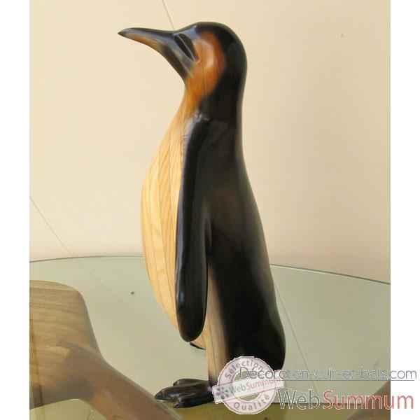 Lasterne Ornementale Le Pingouin En Arr T 60 Cm Opi060p De D Coration Bois