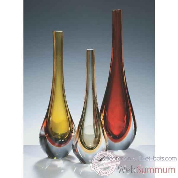 vase goutte en verre formia v11200w de d coration verre de murano formia. Black Bedroom Furniture Sets. Home Design Ideas