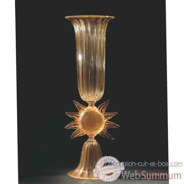 vase en verre formia v01136 dans vase verre de murano sur d coration cuir et bois. Black Bedroom Furniture Sets. Home Design Ideas