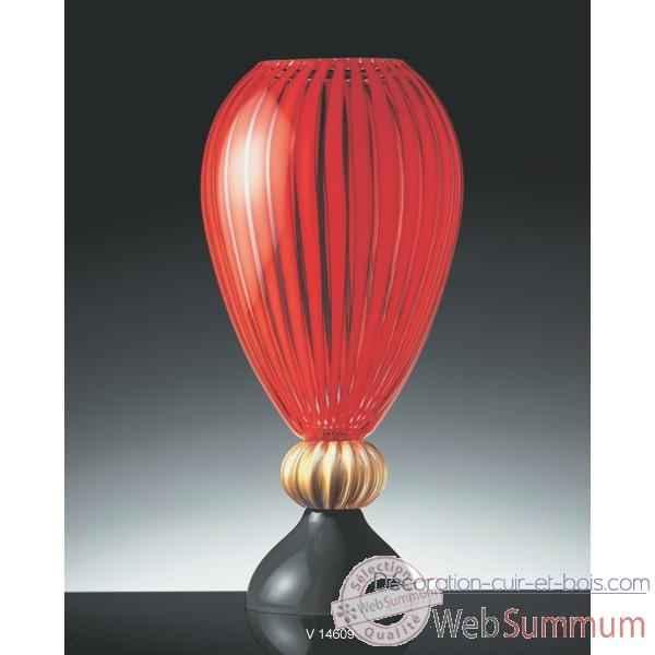 vase en verre formia v14609 de d coration verre de murano formia. Black Bedroom Furniture Sets. Home Design Ideas