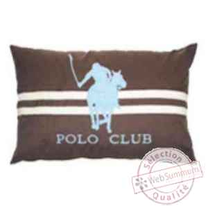 Grand coussin polo club 50x70 arteinmotion COM-CUS0134
