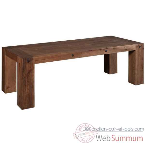 Table indiana en bois de chene arteinmotion -tav-leg0053