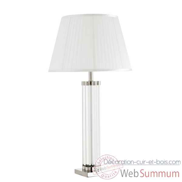 Lampe de table longchamp crystal Eichholtz -08913