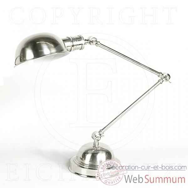 Eichholtz lampe table soho nickel -lig01486