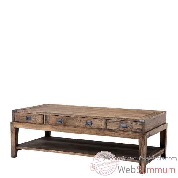 Table basse military eichholtz -110738