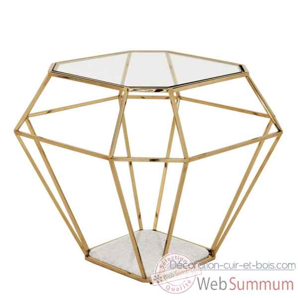 Table d\\\'appoint asscher gold Eichholtz -09112