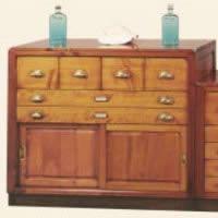 meuble de coursive haut sans patine epoque 19eme 100 x 91 x 40