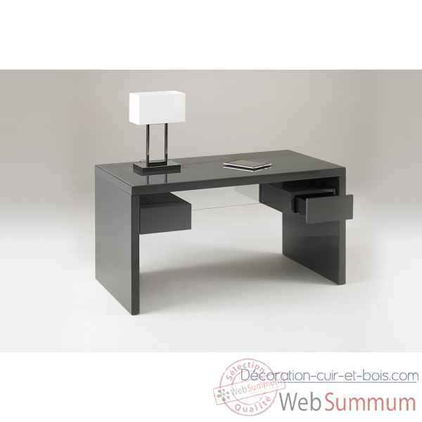 Bureau laque gris Marais International -SYRA470LG
