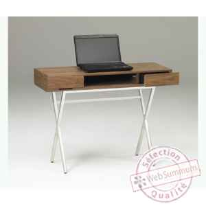 Les independants - console en mdf noyer X352WN