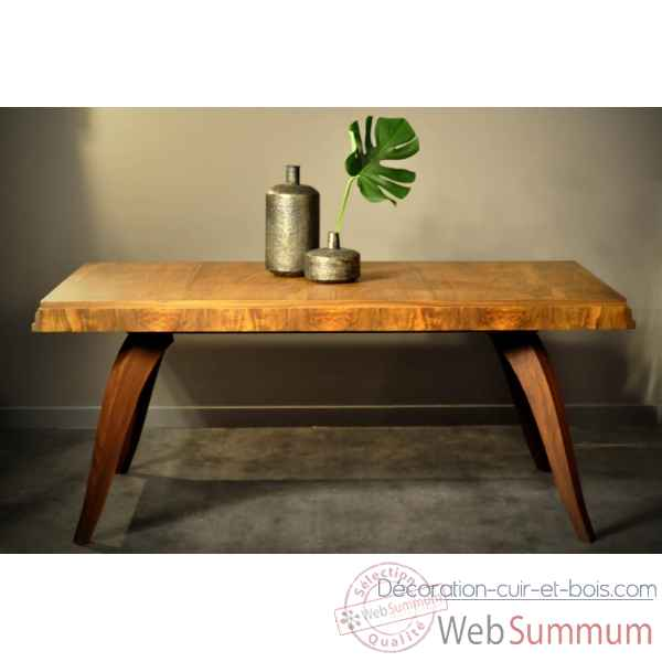 Table rectangulaire 30's - antiquite Objet de Curiosite -PUMB031