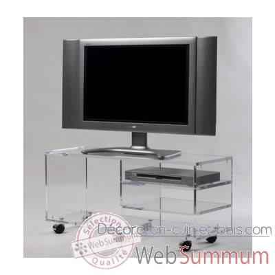 Video Table tele 99x35x45 Marais pour ecran LCD ou plasma -MTV103