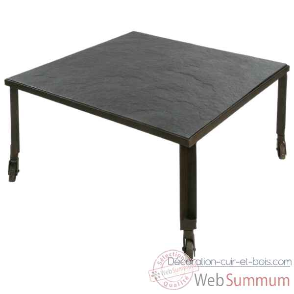 Table top pierre top bois Hindigo -JC11ACIWT