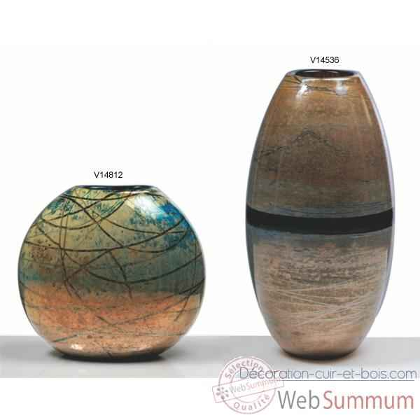 Video Vase sphere en verre Formia -V14812